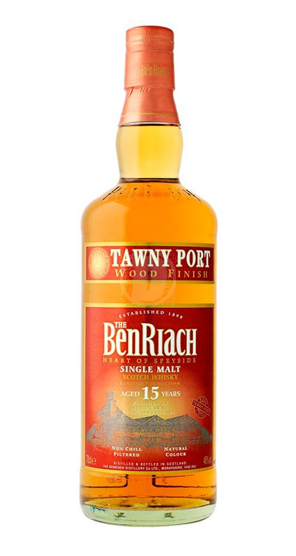 BenRiach 15 år Tawny Port Finish