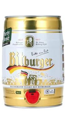 Bitburger Partyfass 5 Ltr