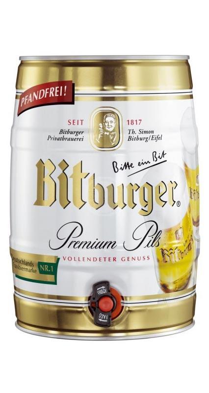Bitburger Pils 5 liter