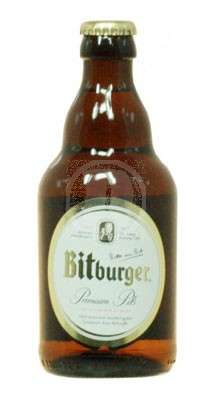 Bitburger Pils flaska