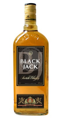 Old Black Jack Whiskey 1 liter petflaska