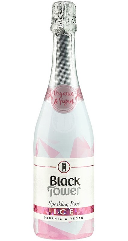 Black Tower Organic Sparkling Ice Rosé