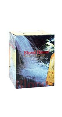 Blond House Finest Whisky 3 Liter bag in box