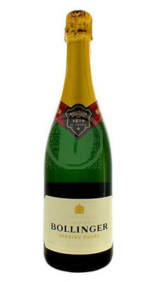 En flaska Bollinger Special Cuvée