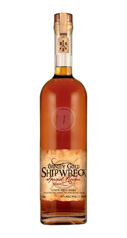 Brinley Shipwreck Spiced Rum