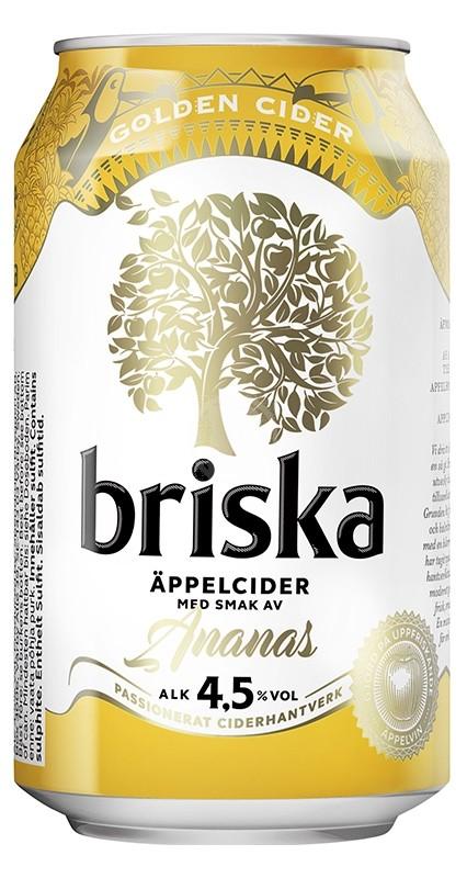 Briska Äppelcider Ananas