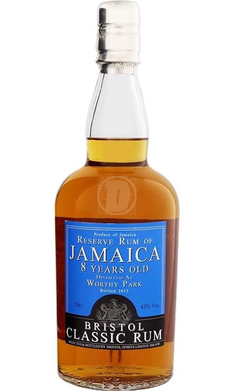 Bristol Reserve Rum of Jamaica Worthy Park 8YO