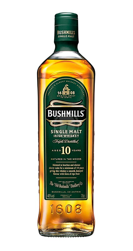 Bushmills 10 år Irish Whisky
