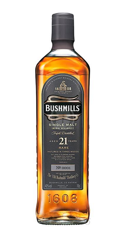 Bushmills Single Malt 21 år