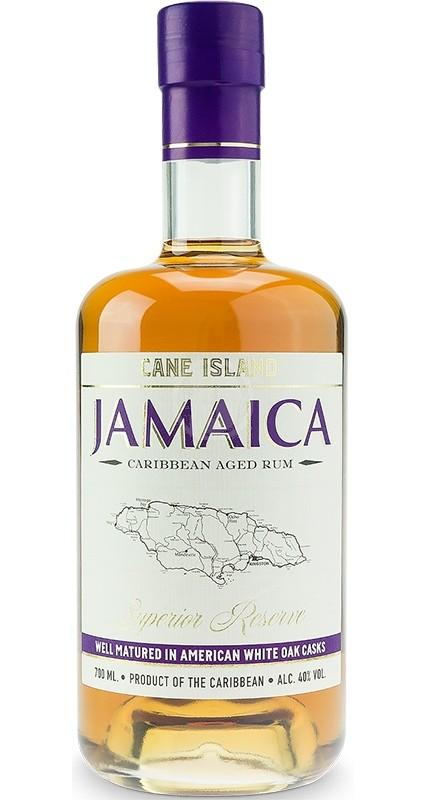 Cane Island Jamaica Caribbean aged rum