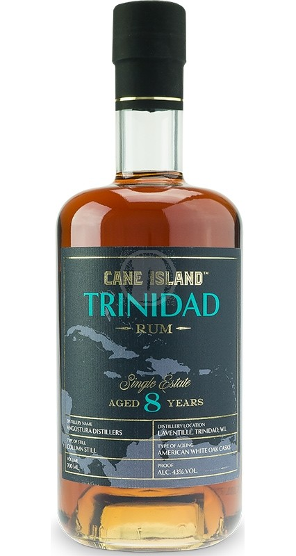 Cane Island Trinidad Single Estate Rum 8YO