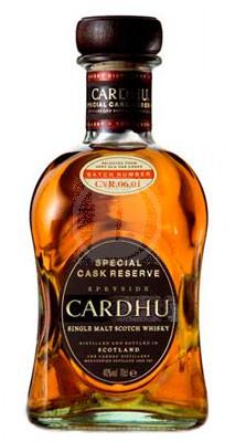Cardhu Special Cask Reserve flaska