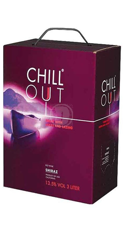 Chill out Shiraz 3 liter