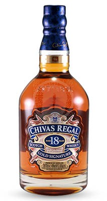 Chivas Regal 18 år  flaska
