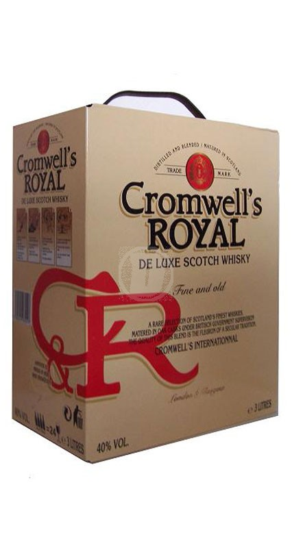 Cromwell´s Royal Scotch Whisky