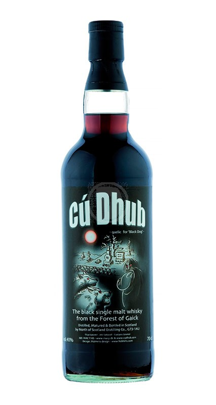 Cu Dhub Black Single Malt