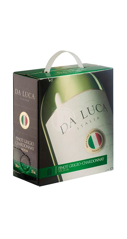 Da Luca Pinot Grigio Chardonnay 3 liter