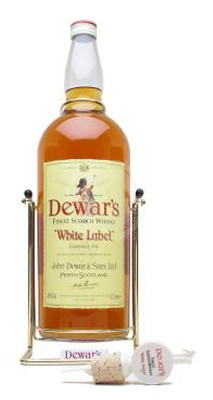 Dewars White Label Whisky 4,5 Liter