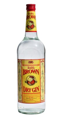 Earl Brown Dry Gin 1 Liter