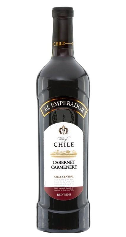 El Emperador Cabernet Carmenere 75 cl