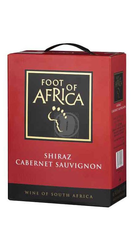 Foot of Africa Shiraz Cabernet 3 liter