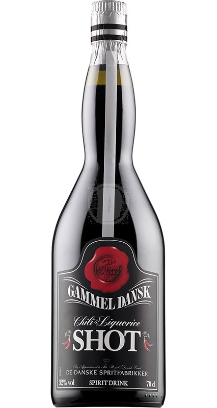 Gammel Dansk Chili & Lakrids Shot