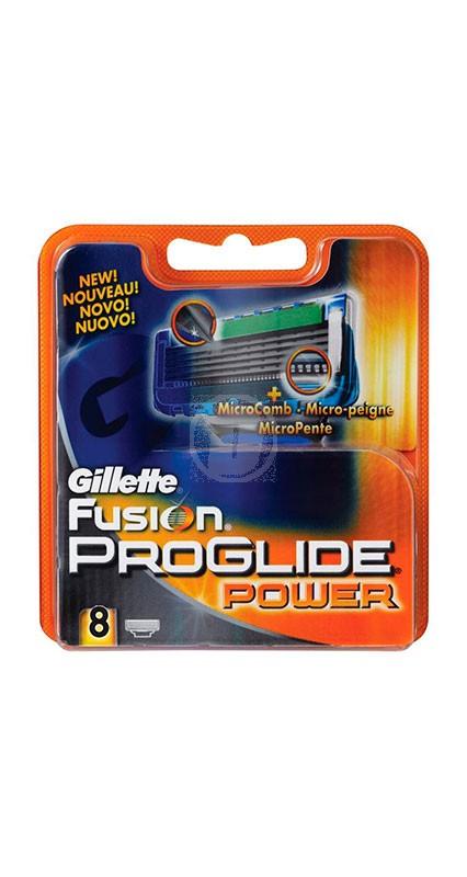 Gillette Fusion Power Pro GL. 8st Blad