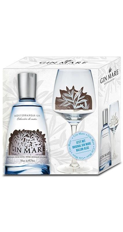 Gin Mare + Glas