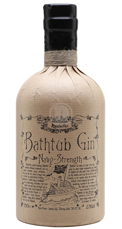 Ableforths Bathtub Gin Navy Strength