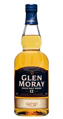 Glen Moray Single Malt Whisky 12 år 70 Cl