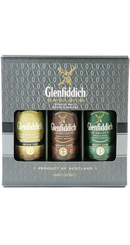 Glenfiddich Cask Collection