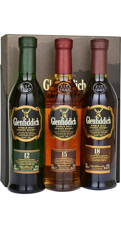 Glenfiddich Tasting Selection