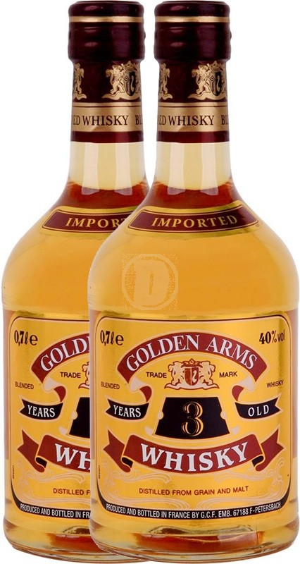 Golden Arms Whisky 2 - Pack