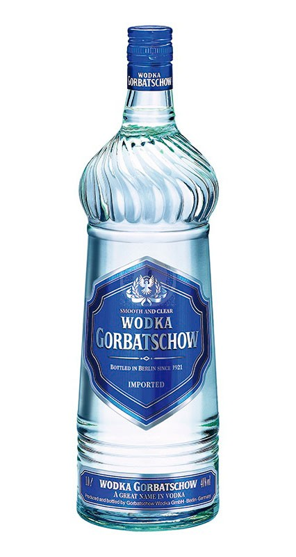 Gorbatschow Wodka Blue