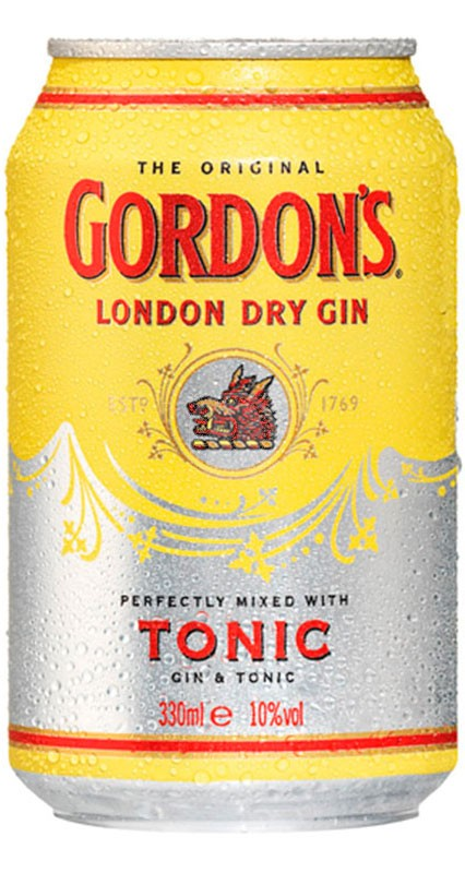 Gordon´s London dry gin & Tonic