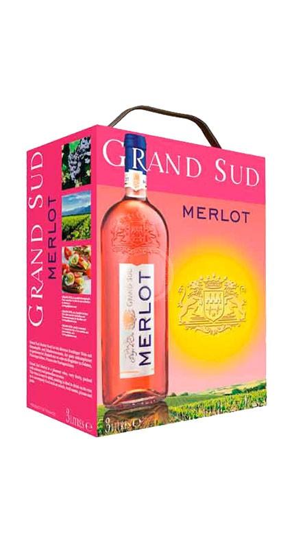 Grand Sud Merlot Rose 3 liter