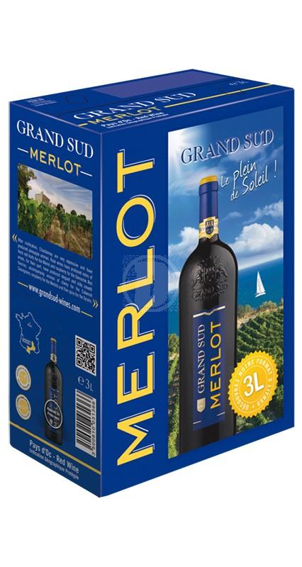 Grand Sud Merlot 3 liter