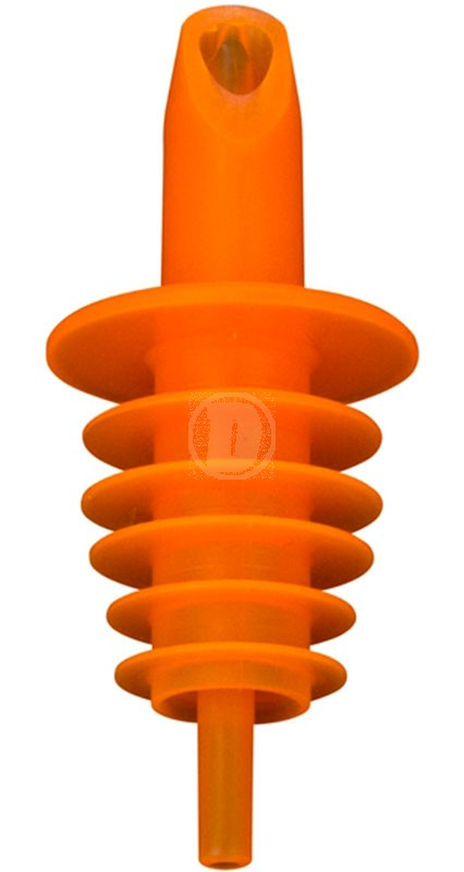 Hällpip plast Orange