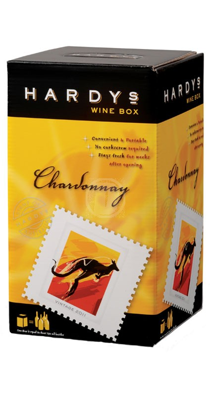 Hardys Stamp Chardonnay 3 liter