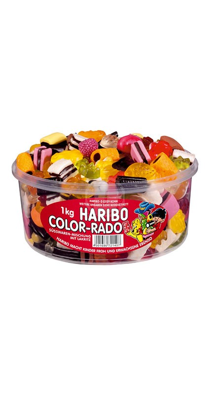 Haribo Color-Rado Godis