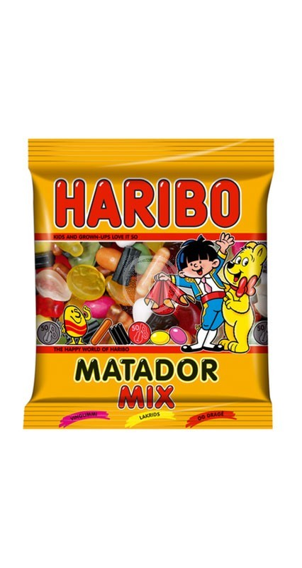 Haribo Matador Mörk Mix