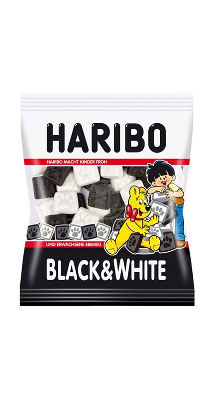 Haribo Black & White
