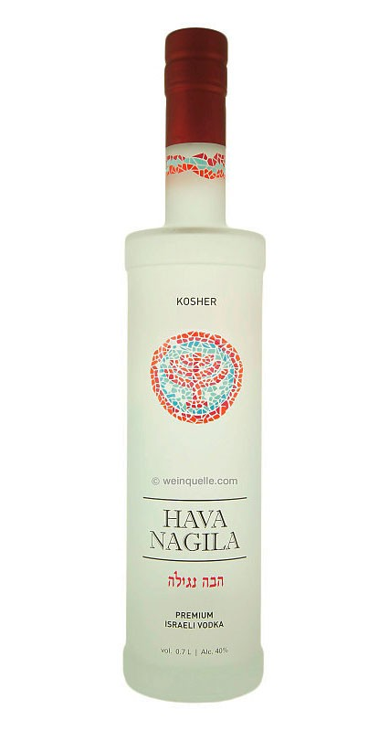 Hava Nagila Kosher Vodka