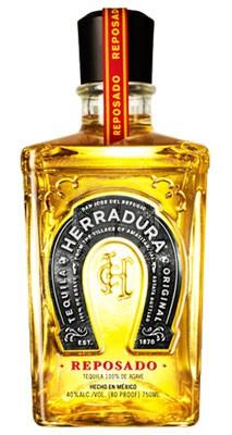 Herradura Gold Reposado Tequila flaska