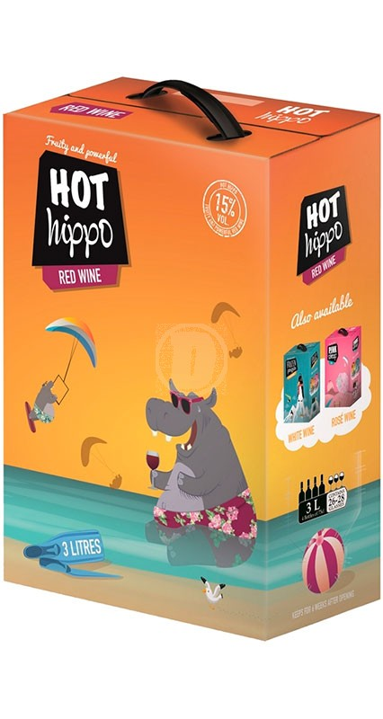Hot Hippo Red Wine