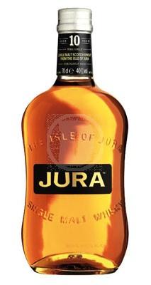 En flaska av Isle Of Jura 10 årig