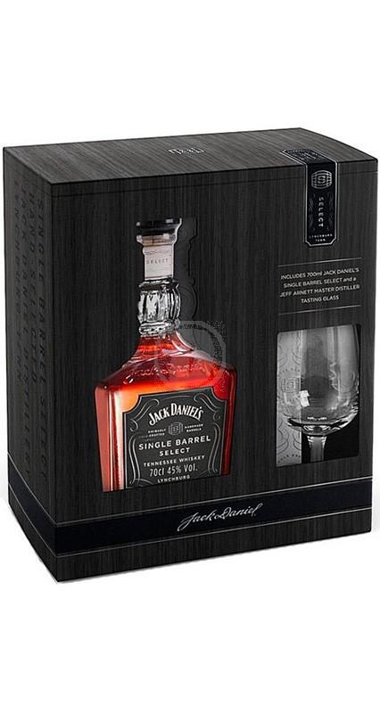 Jack Daniel´s Single Barrel + Glas