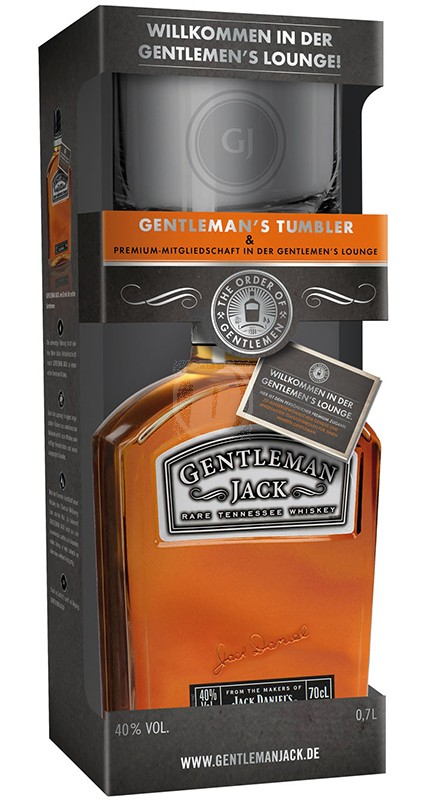JD Gentleman Thumbler