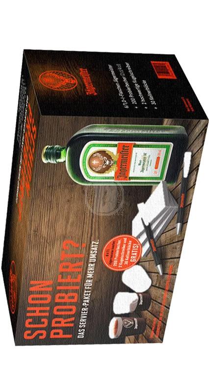 Jägermeisterbox 6 x 1 liter