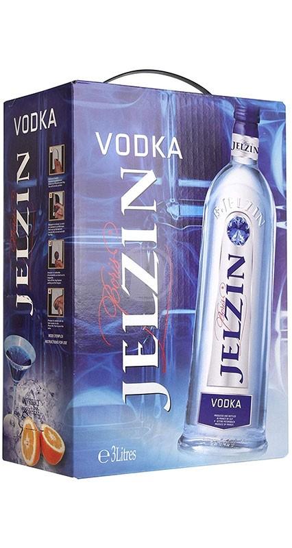 Jelzin vodka BIB 3 liter